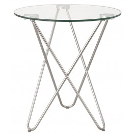 901914 Chrome Accent Table