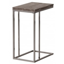 902864 Weathered Grey Snack Table