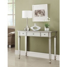 950014 Antique Silver Console Table