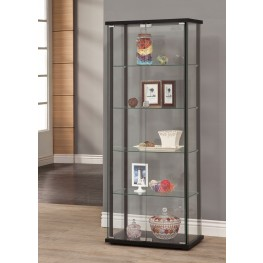 950170 Black Curio Cabinet
