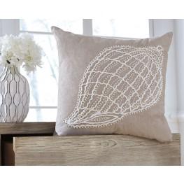 Anshel Natural Shell Design Pillow Cover Set of 4