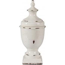 Devorit Small Antique White Jar