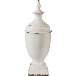 Devorit Large Antique White Jar
