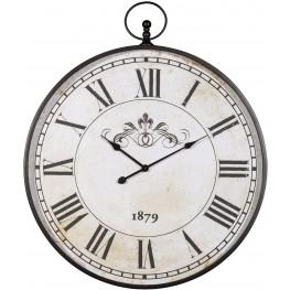 Augustina Antique Black Wall Clock