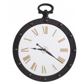 Juan Brown Wall Clock