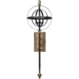 Dina Black and Gold Wall Sconce