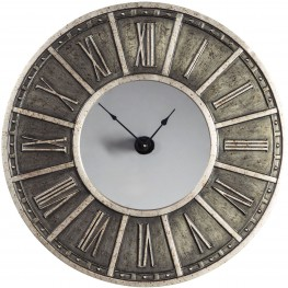 Peer Champagne And Black Wall Clock
