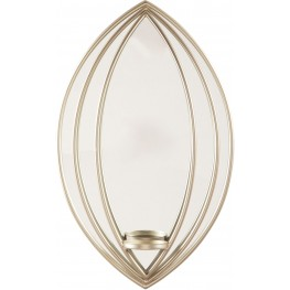 Donnica Silver Accent Sconce