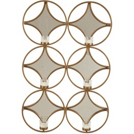 Emilia Gold Wall Sconce