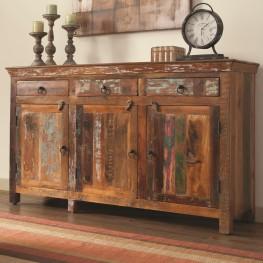 950367 Rustic Door Accent Cabinet