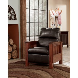 Santa Fe Chocolate High Leg Recliner