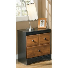 Aimwell 2 Drawer Nightstand