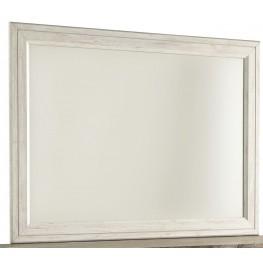 Willowton Whitewash Bedroom Mirror