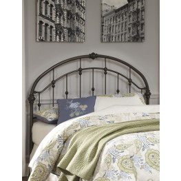 Queen Bronze Metal Headboard