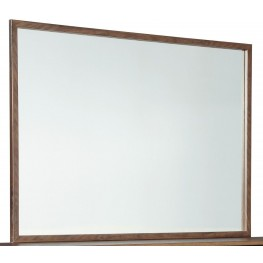 Daneston Brown and Black Bedroom Mirror