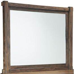 Lakeleigh Dark Brown Bedroom Mirror