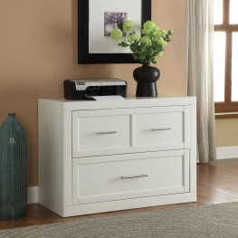 "Catalina Cottage White 40"" Lateral File"