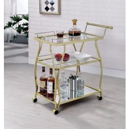 Cedar Park Champagne Serving Cart