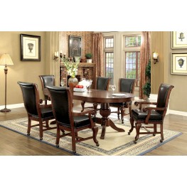 Melina Brown Cherry Game Room Set