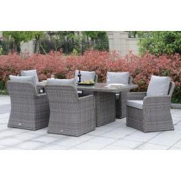 Bowdon Gray Outdoor Dining Set