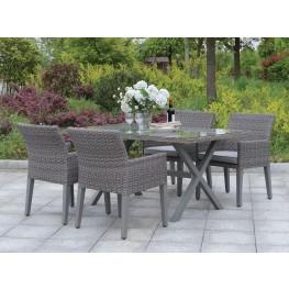 Chamberlain Gray Outdoor Dining Set