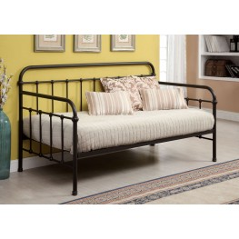 Claremont Dark Bronze Metal Daybed