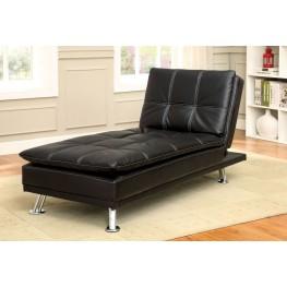 Hauser II Black Chaise