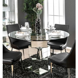 Izzy Silver Dining Table