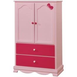 Dani Pink Armoire