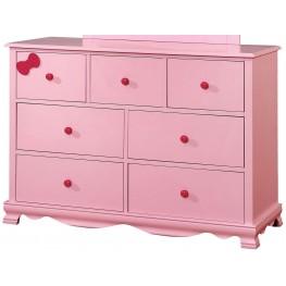 Dani Pink Dresser