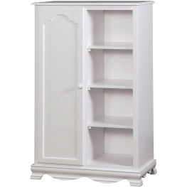 Dani White Closet Storage Cabinet