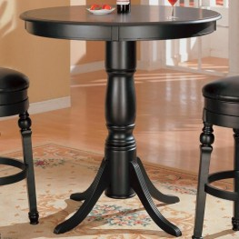 Black Counter Height Pub Table - 100278