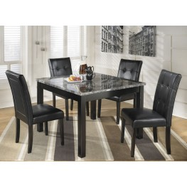 Maysville 5 Piece Square Counter Height Dining Room Set