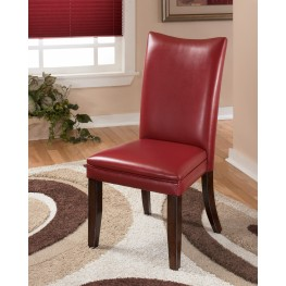 Charrell Red Side Chair Set of 2