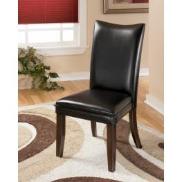 Charrell Black Side Chair Set of 2