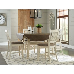 Bolanburg Two Tone Round Counter Height Dining Table