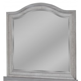 Stonebrook Antique Gray Landscape Mirror