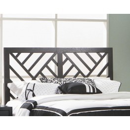 Grove Black Queen/Full Bed Headboard