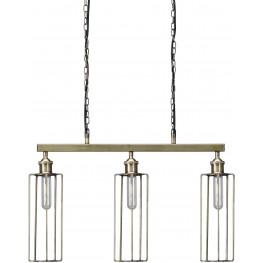 Hilary Brass Metal Pendant Light