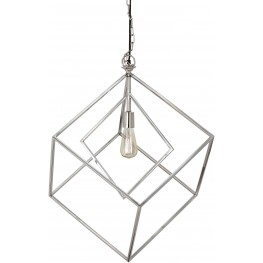 Neysa Silver Metal Pendant Light
