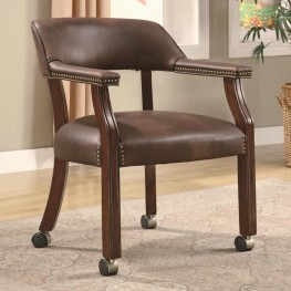 517BRN Vinyl Office Chair