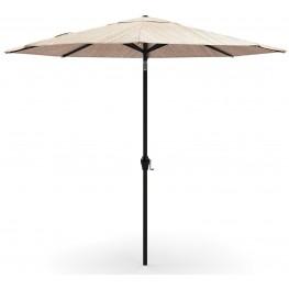Beige Medium Auto Tilt Umbrella