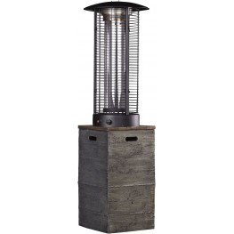 Hatchlands Brown and Gray Patio Heater