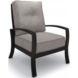 Castle Island Dark Brown Lounge Chair