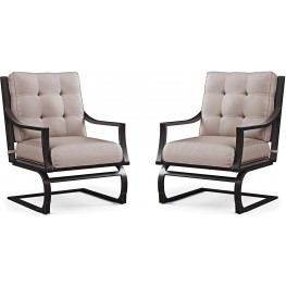 Town Court Brown Spring Lounge Chair Set of 4