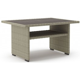 Silent Brook Beige Rectangular Multi Use Table