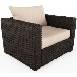 Spring Ridge Beige And Brown Lounge Chair