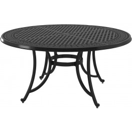 Burnella Brown Large Round Dining Table
