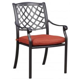 Tanglevale Burnt Orange Chair Set of 4
