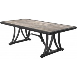 Marsh Creek Brown Rectangular Dining Table
